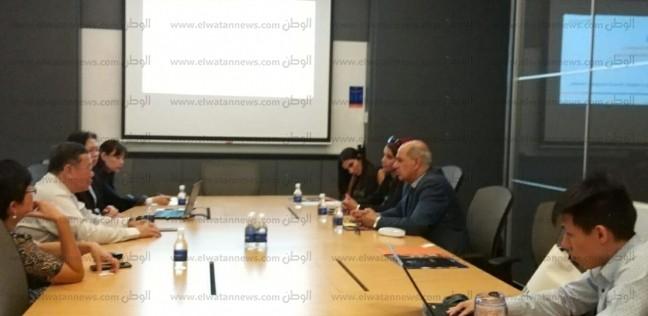 """رئيس """"كفر الشيخ"""" يبحث سبل التعاون الأكاديمي مع جامعة سنغافورة الوطنية"""