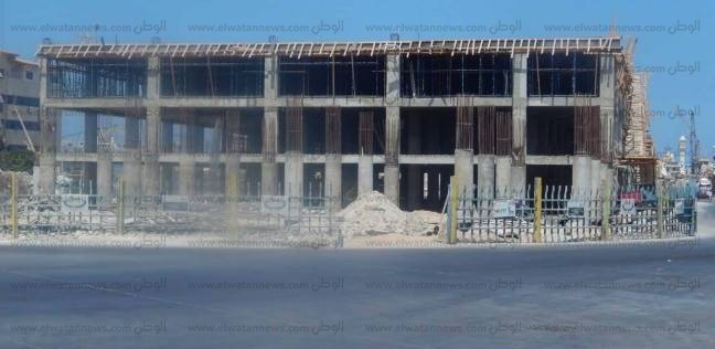 بالصور| رئيس هيئة ميناء الإسكندرية: إنجاز 35% من الجراج متعدد الطوابق