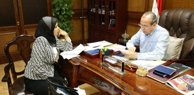 محافظ كفرالشيخ يبحث مشكلات المواطنين مع نواب البرلمان