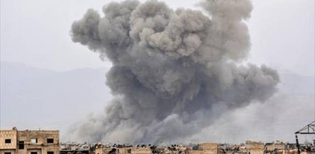 هجمات دمشق على مخيم