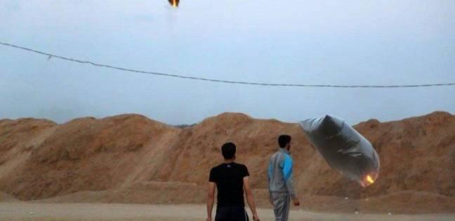 العرب و العالم   اندلاع 4 حرائق بغلاف غزة بفعل بالونات حارقة للمقاومة