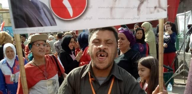 """أيمن """"أيقونة شبرا"""": """"صوتي راح من الزغاريد عشان السيسي وليا طلب عنده"""""""