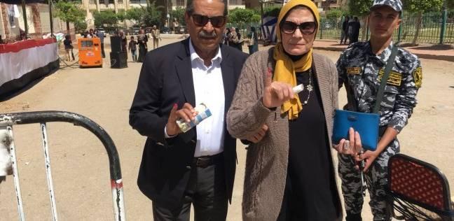 استمرار توافد المواطنين على لجان الانتخابات بالمقطم