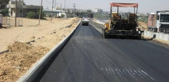 بدء تطوير شارع كورنيش النيل لتخفيف الزحام في المنيا
