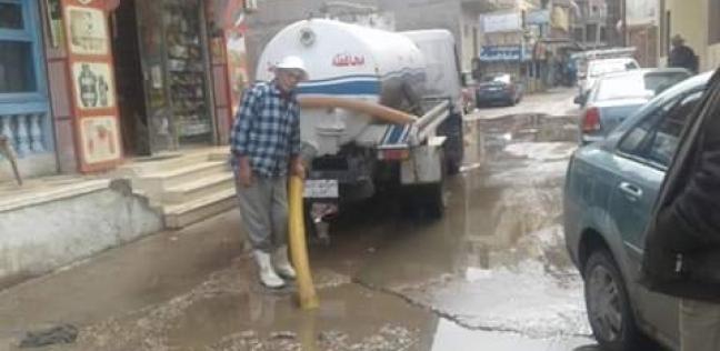 أمطار غزيرة على سواحل محافظة دمياط وانتظام الملاحة البحرية