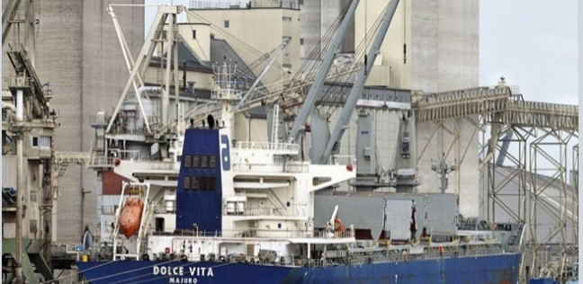 ميناء غرب بورسعيد يستقبل 4947 طن مواسير حديد