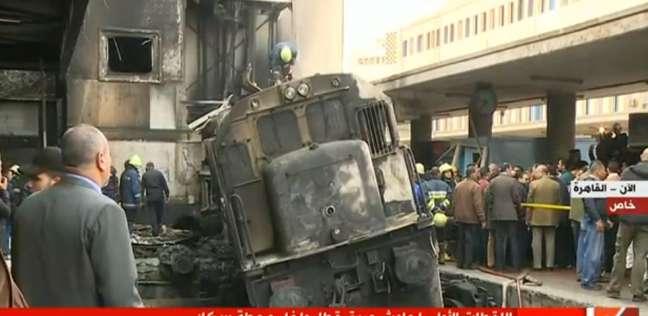 رانيا يوسف تنعى ضحايا «حريق محطة مصر»