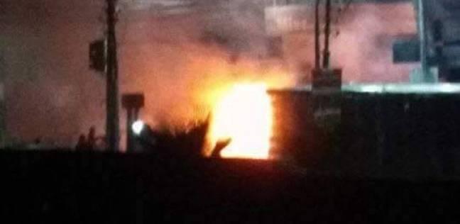الحماية المدنية تسيطر على حريق هائل بمنزل في مركز تلا بالمنوفية