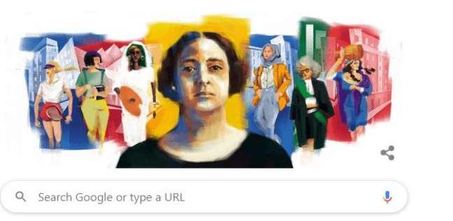 جوجل يحتفل بذكرى ميلاد هدى شعراوي