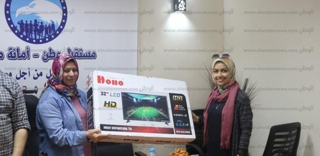 """""""مستقبل وطن"""" مطروح يوزع جوائز على الفائزين بسحب أجراه يوم العيد"""