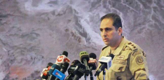 بالصور| تفاصيل مؤتمر المتحدث العسكري عن نتائج عملية سيناء 2018