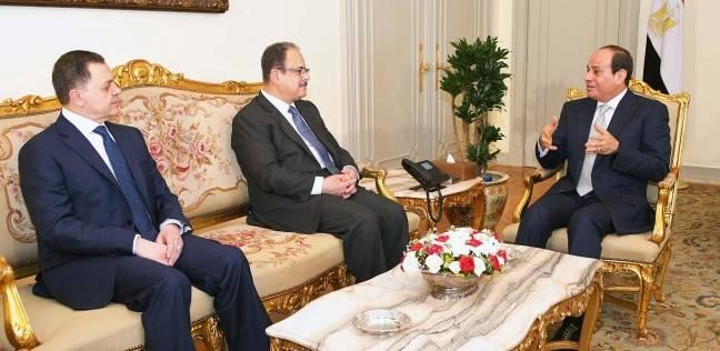 السيسي يشكر وزير الداخلية السابق لجهوده في توفير الأمن والاستقرار