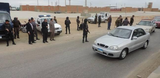 """""""أمن الفيوم"""": ضبط 30 محكوما عليهم وفحص 37 مسجل خطر في حملة"""