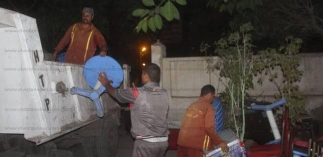 تحرير 10 محاضر ضد مقاهي ومطاعم لعدم حمل شهادات صحية بالإسكندرية