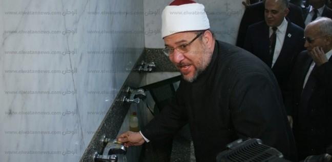"""جمعة: مقترح لترشيد مياه السيفون.. والمساجد سترخص بـ""""الحنفيات الموفرة"""""""