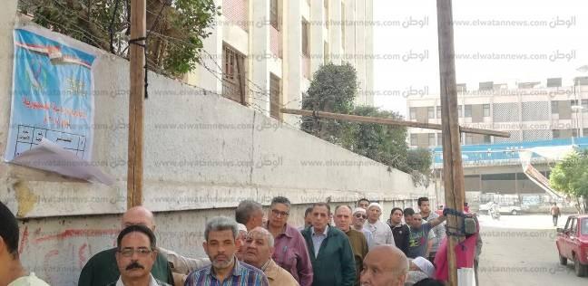 """طائرات """"هليكوبتر"""" في سماء """"الهرم"""" بالتزامن مع التصويت في الانتخابات"""