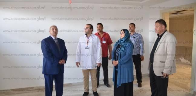 محافظ الإسماعيلية: تطوير المستشفى العام ليصبح صرحا عالميا