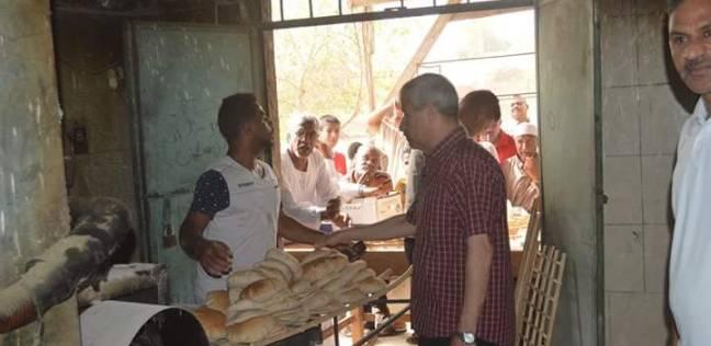 رئيس مدينة القصير يتابع إنتاج الخبز خلال عيد الفطر