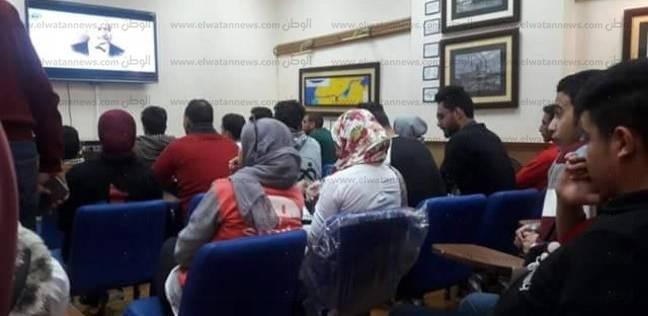 """""""اﻷنشطة الموازية"""" بجامعة الإسماعيلية تنظم ندوة عن تاريخ حفر قناة السويس"""