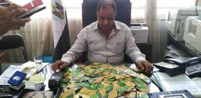 ضبط 827 بطاقة تموينية لدى أصحاب مخابز بمركزي القوصية وديروط