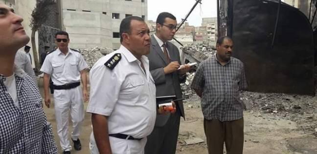 نيابة الإسكندرية تعاين مصنع البويات في غرب لكشف ملابسات الحادث