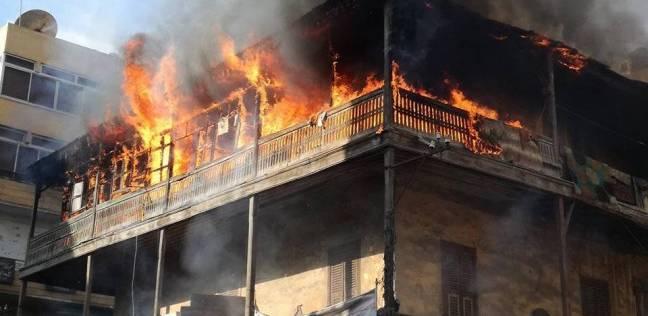 تفحم ربة منزل في حريق منزلين بسوهاج