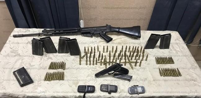 ضبط مزارع ونجله بتهمة إدارة ورشة لتصنيع الأسلحة النارية بالبحيرة
