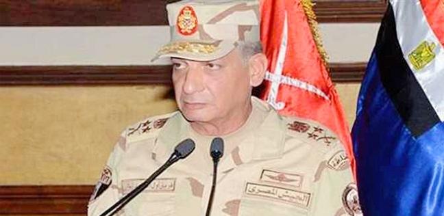 وزير الدفاع يلتقي عددا من دارسي المعاهد التعليمية بالقوات المسلحة