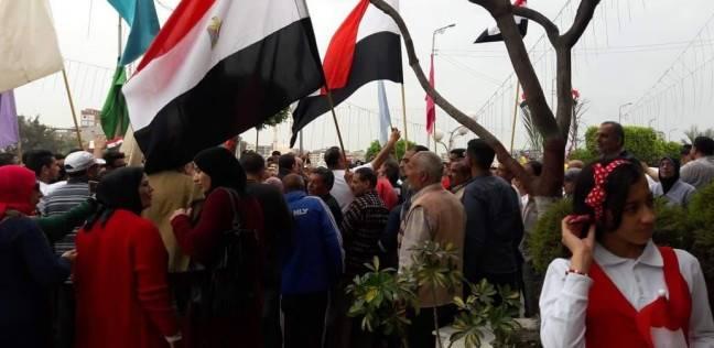"""""""التموين"""" و""""الجامعة"""" بدمياط ينظمان مسيرات لحث المواطنين على الانتخاب"""