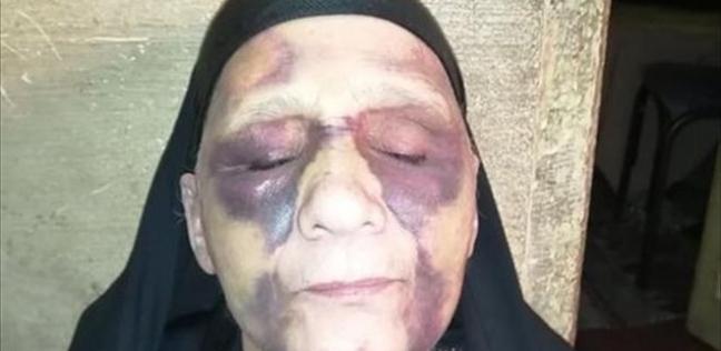 أم تشكو عنف ابنها في كفر الشيخ