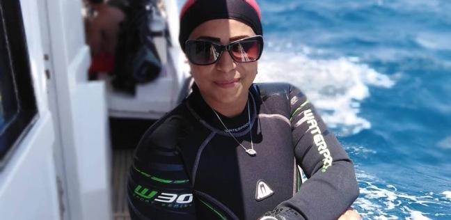 """مدربة """"لحام تحت الماء"""": سأنقل تجربتي في منتدى شباب العالم"""