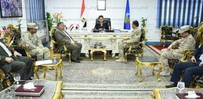 محافظ البحيرة تناقش آخر الاستعدادات لانتخابات الرئاسة