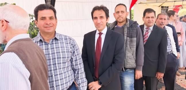 المتحدث الرسمي باسم رئاسة الجمهورية يدلي بصوته في التجمع الخامس