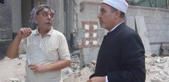 رئيس المنطقة الأزهرية بالإسكندرية يتفقد المعاهد لمتابعة أعمال الترميم