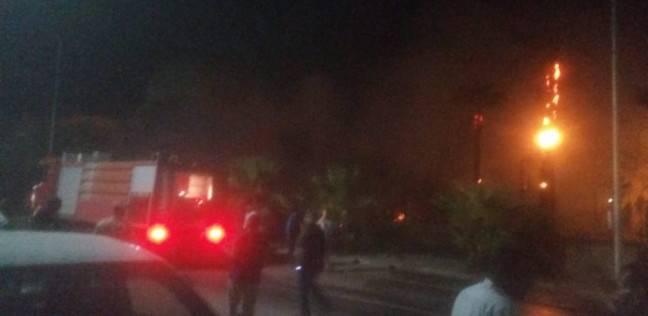إخماد حريق بمصنع بلاستيك في شبرا الخيمة