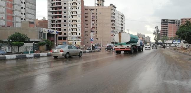 """""""المرور"""": كثافات على الطريق الدائري بسبب الأمطار"""