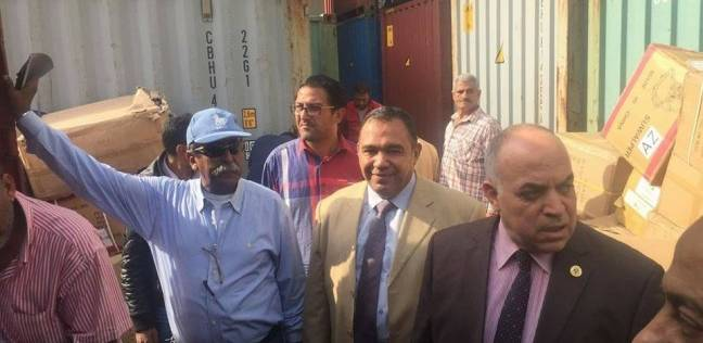 ضبط 7 ملايين شمروخ بحاوية ألعاب أطفال في ميناء بورسعيد