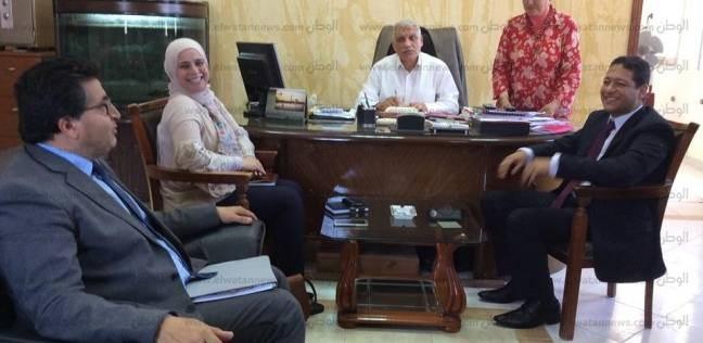 """بحث تعاون بين """"اليونيسيف"""" ومديرية التربية والتعليم بجنوب سيناء"""