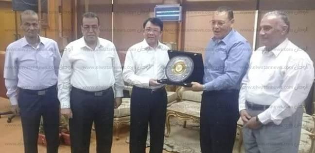 نائب وزير التعليم الصيني: جامعة قناة السويس الأشهر بالمنطقة