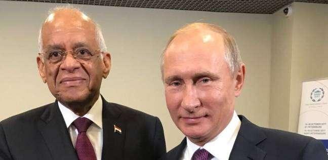 عاجل| بوتين يستقبل الدكتور علي عبد العال