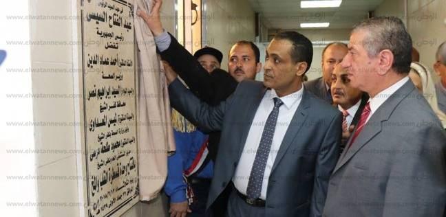 بالصور| محافظ كفر الشيخ يفتتح وحدتي عناية مركزة وطوارئ بالمستشفى العام