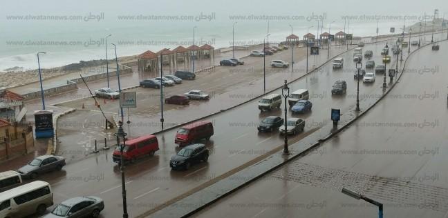 «الأرصاد»: سقوط أمطار خلال ساعات.. وانخفاض الحرارة 11 درجة غدا