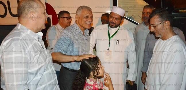 سكرتير عام جنوب سيناء يودع حجاج الجمعيات الأهلية من أبناء المحافظة