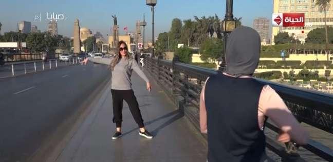 نتيجة بحث الصور عن ريهام سعيد ترقص باليه