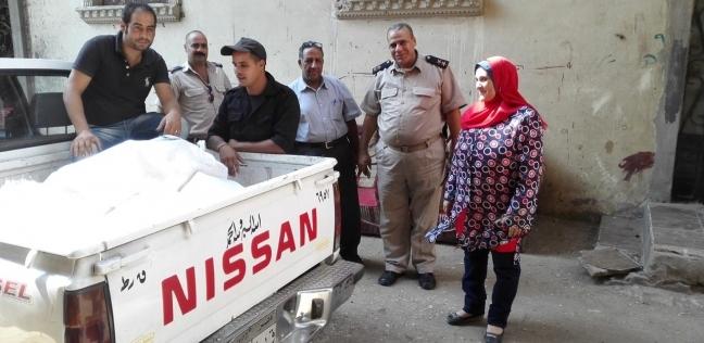 ضبط 200 كيلو مفروم دجاج فاسد في حملة بشبرا