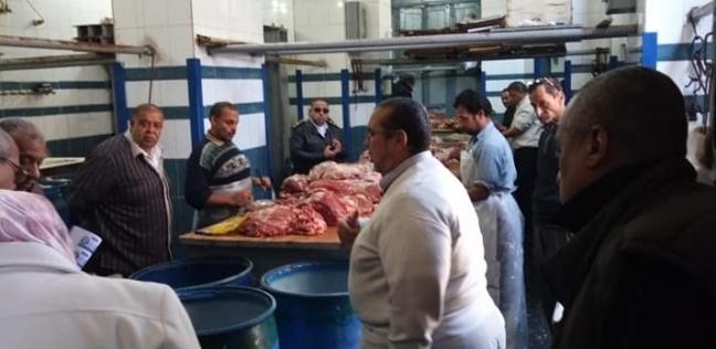 """حملة مكبرة للتفتيش على مصانع """"البسطرمة"""" غرب الإسكندرية"""