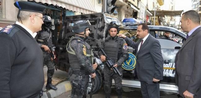 ضبط 4 أسلحة نارية و8 طلقات دون ترخيص في حملة أمنية بالإسكندرية