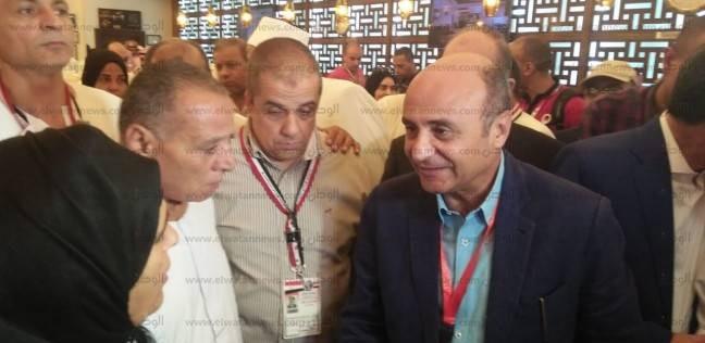 رئيس البعثة المصرية للحج يلتقي أسر الشهداء في الأراضي المقدسة