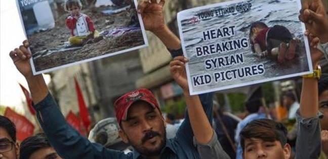 احتجاجات في نيويورك ضد قرار تأييد حظر سفر مواطني دول مسلمة