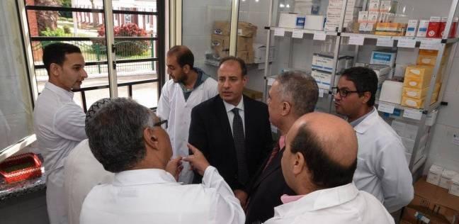 محافظ الإسكندرية يفتتح مبنى العيادات الخارجية الجديد لمستشفى الحميات
